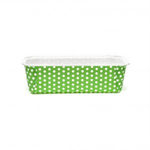 250 Grams Plum Cake Green Dotted