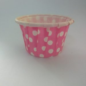 Pink Polka Dot Cupcake Big