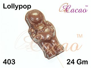 Cacao Lollypop Chocolate Mould