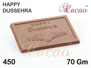 Cacao Happy Dussehra Chocolate Mould