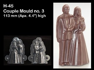 Couple Chocolate Mould